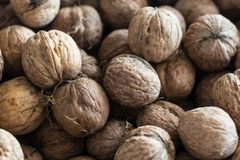Walnut background texture stock photos