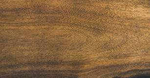 Natural walnut wood slab texture or background Royalty Free Stock Photography