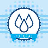 Natural water Royalty Free Stock Images
