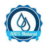 Natural water Stock Image