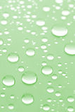 Natural water drops background Stock Photography