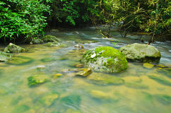 Natural water flow Royalty Free Stock Images