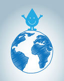 Natural water Royalty Free Stock Photo