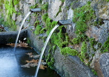 Natural water sources Royalty Free Stock Photo