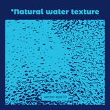Natural water texture Royalty Free Stock Images