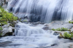 Natural waterfall Royalty Free Stock Photos
