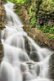Natural waterfall Patraitesti. Long exposure shot with ND -filte. Natural waterfall Patraitesti. Long exposure shot with ND - filter Royalty Free Stock Photography