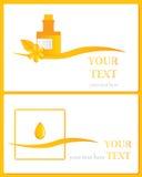 Natural way. Alternative medicines vector logo, health and wellness on natural way Royalty Free Stock Photography