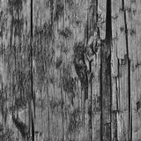 Natural Weathered Grey Tan Taupe Wooden Board, Cracked Ruined Rough Cut Sepia Wood Texture, Large Detailed Old Aged Gray Lumber. Background Macro Closeup Royalty Free Stock Images