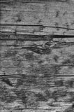 Natural Weathered Grey Tan Taupe Wooden Board, Cracked Ruined Rough Cut Sepia Wood Texture, Large Detailed Old Aged Gray Lumber. Background Vertical Macro Royalty Free Stock Photos