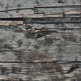 Natural Weathered Grey Tan Taupe Wooden Board, Cracked Ruined Rough Cut Sepia Wood Texture, Large Detailed Old Aged Gray Lumber Royalty Free Stock Photography