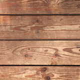 Natural weathered wooden floor background Royalty Free Stock Photos