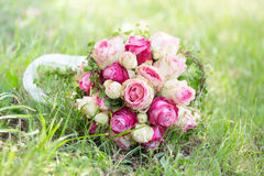 Natural wedding flowers Royalty Free Stock Images