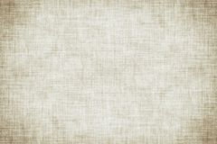 Natural white colored linen texture or vintage canvas background stock illustration