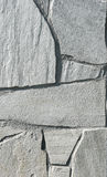 Natural white gray pavement stone for floor, wall or path. Stock Photo