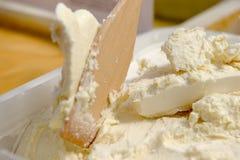 Natural white honey with uterine milk Royalty Free Stock Photo