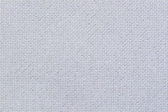 Natural white linen fabric with shining sparkles Stock Images