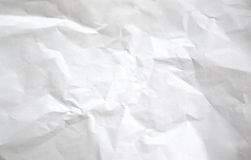 Natural white paper reuse background texture. Stock Photography
