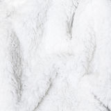 Natural white sheep fur background Stock Photo