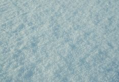 Natural white snow. Background, winter outdoor Royalty Free Stock Photos