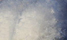 Natural white snowflakes, macro shot royalty free stock image