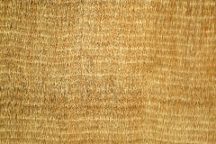 Natural wicker mat background Royalty Free Stock Images