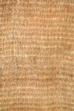 Natural wicker mat background Stock Photography