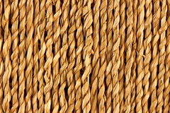 Natural wicker weave texture Royalty Free Stock Image