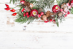 Natural winter background Royalty Free Stock Photo