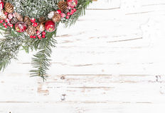 Natural winter background Royalty Free Stock Photos