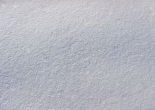 Natural winter background - white snow Stock Photos