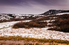 Natural Winter Landscape Stock Photo