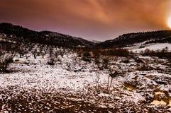 Natural Winter Landscape Stock Image