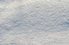 Natural winter  snow texture in blue tone Stock Photography