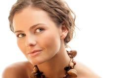 Natural woman royalty free stock photo