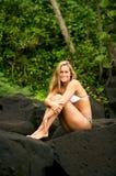 Natural Woman Stock Image