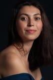 Natural woman portrait Stock Images