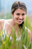 Natural woman portrait Stock Photo