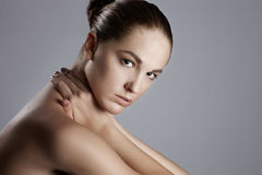 Natural womans beauty Stock Photo