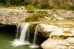 Natural wonder in Istria , Croatia. Waterfall in Istria region , Croatia royalty free stock photography