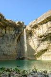 Natural wonder in Istria , Croatia. Waterfall Sopot in Istria region , Croatia stock photo