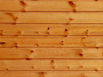 Natural wood background. Boards connected as a wall Stock Photo