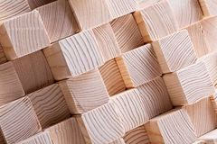 Natural wood beam Royalty Free Stock Photography