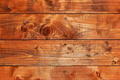 Natural wood board background. Royalty Free Stock Photo