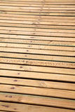 Natural wood boards Stock Image