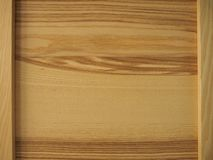 Natural wood frame board background stock photo