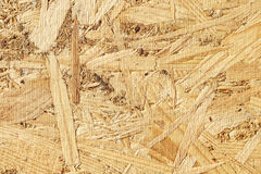 Natural wood osb texture Royalty Free Stock Photography