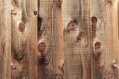 Natural wood plank fence texture, pattern, background Royalty Free Stock Photography