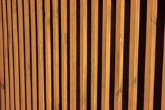 Natural wood slats. wooden photophone. striped screen saver. a flat Board stock image