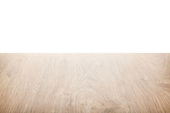 Natural wood table background Royalty Free Stock Images